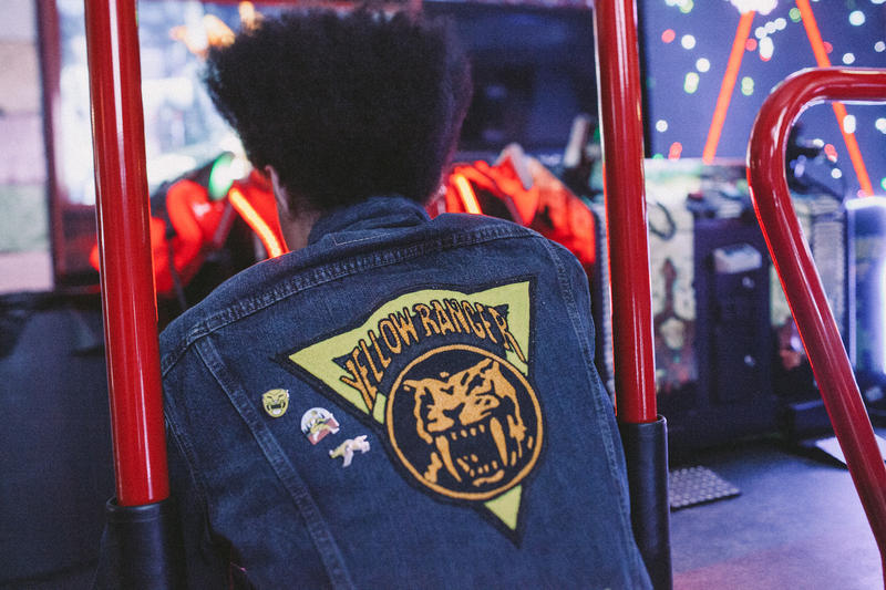 Power Rangers PINTRILL 2017 Capsule Collection Pins Mighty Morphin Levi's