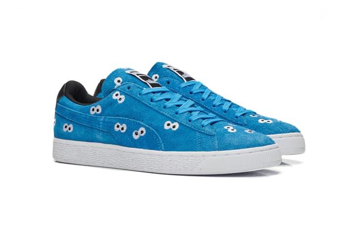 PUMA Sesame Street Basket Suede Sneakers