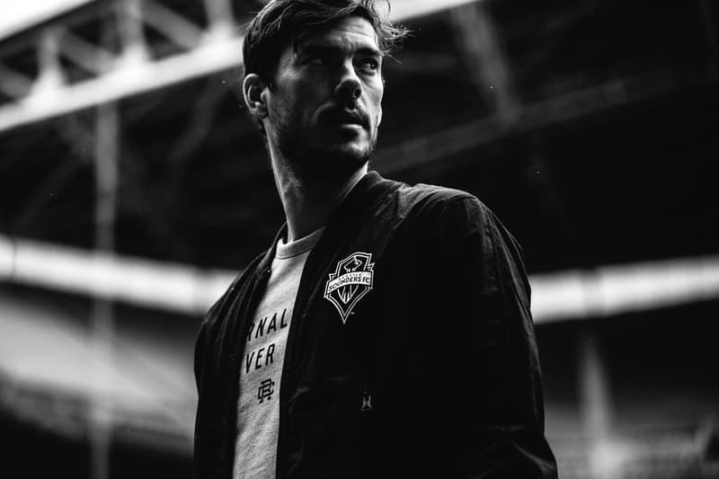 Reigning Champ MLS 2017 Spring/Summer Collection Major League Soccer Brad Evans Lookbooks Seattle Sounder FC