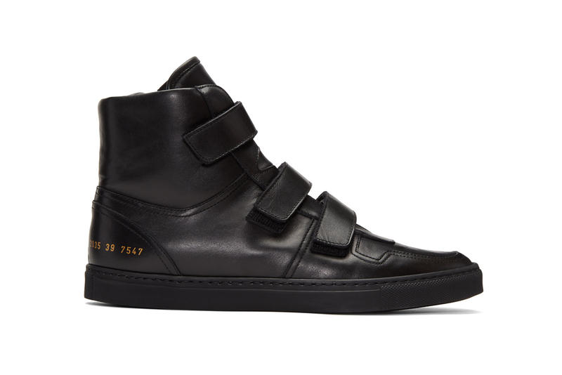 Robert Geller Common Projects Edition High Top Sneakers