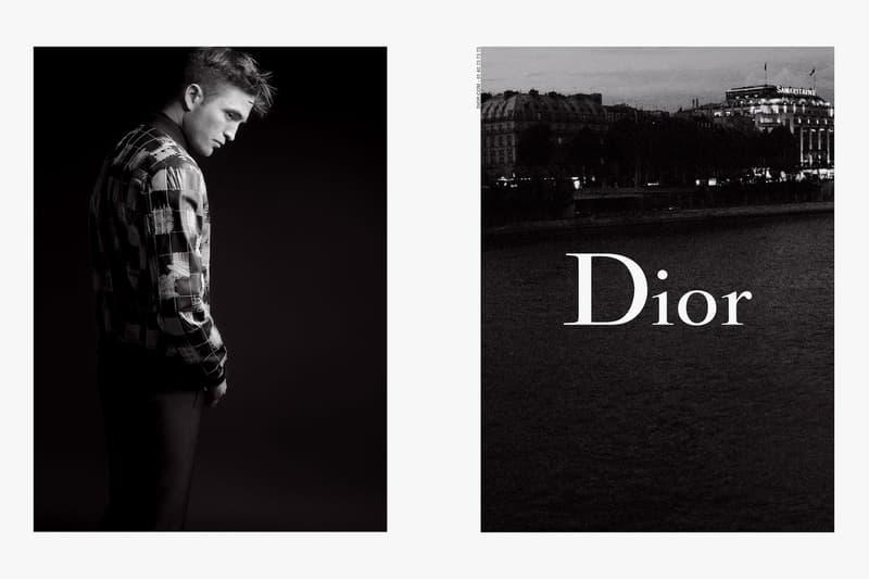 Robert Pattinson Dior Homme Karl Lagerfield Dior Campaign