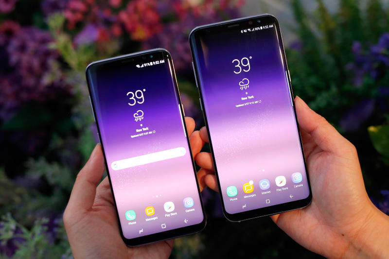 Samsung Galaxy 8 Smartphone S8 S8+ Technology Device