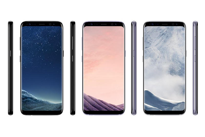 Samsung Galaxy S8 Leak Colors