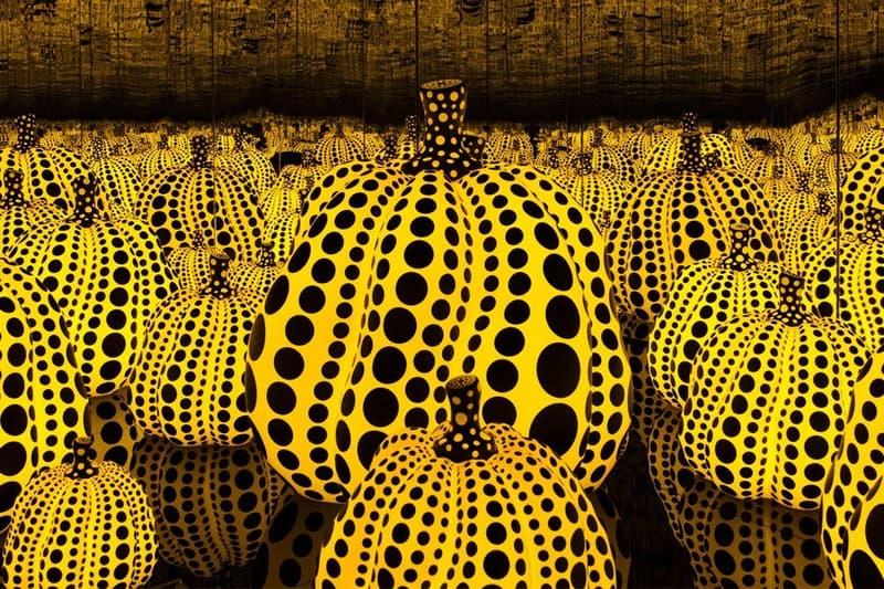 Selfie Taker Smashes Yayoi Kusama Pumpkin Sculpture