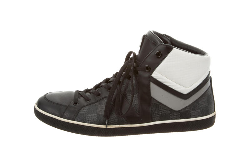 Louis Vuitton Damier High-Top Silicon Valley Reports Study The RealReal