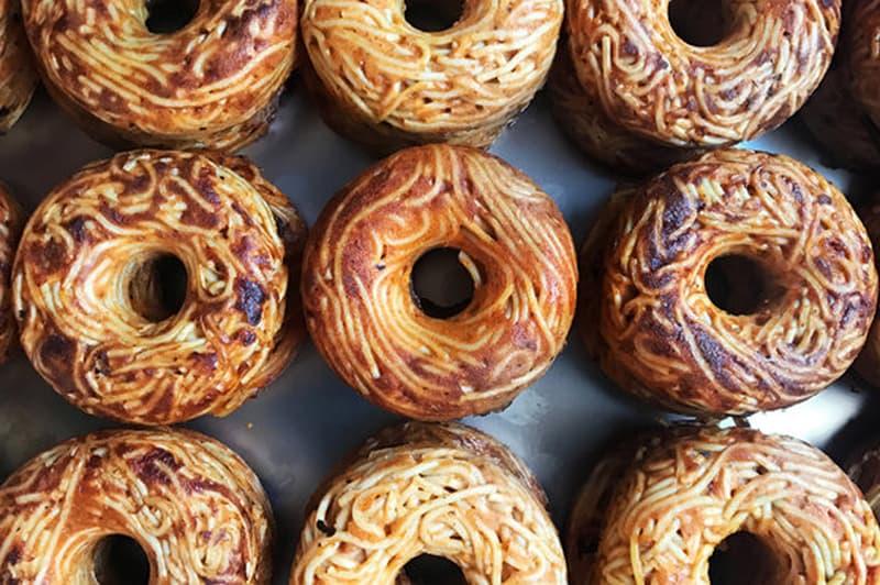 Spaghetti Donuts Doughnuts Pop Pasta Smorgasburg NYC New York City