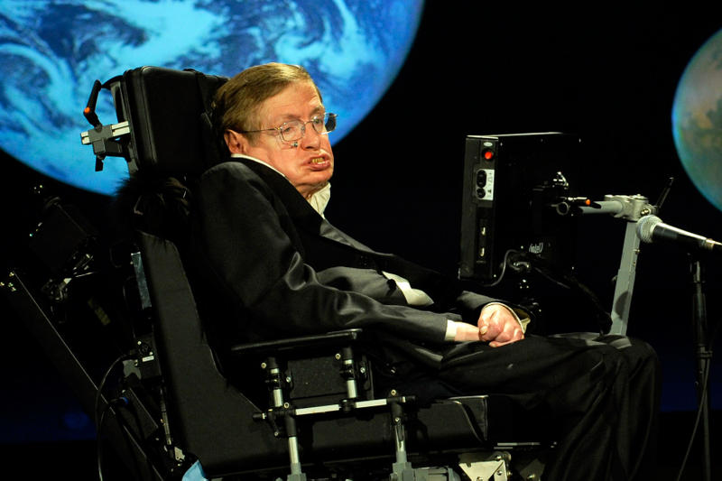 Stephen Hawking Richard Branson Virgil Galactic