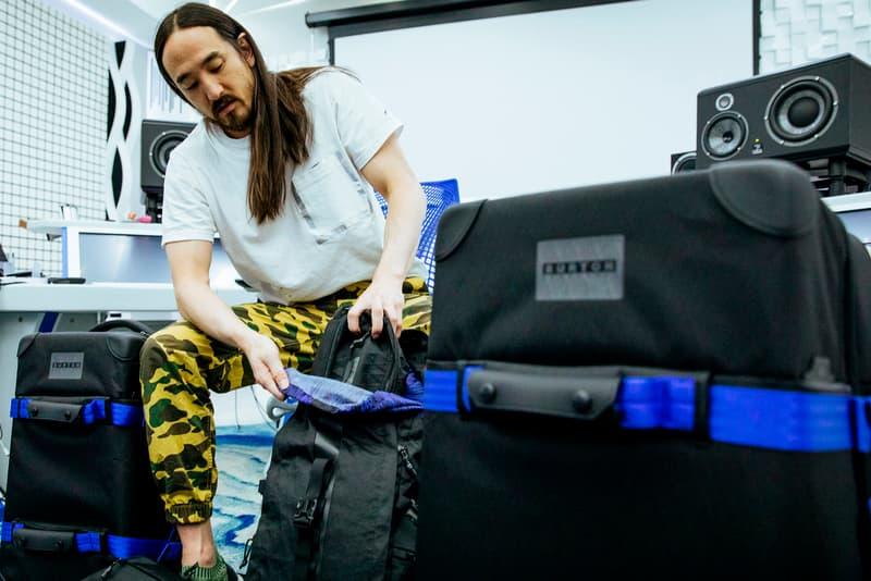 Steve Aoki Burton Bags Collection 2017 Luggage Suitcases EDM