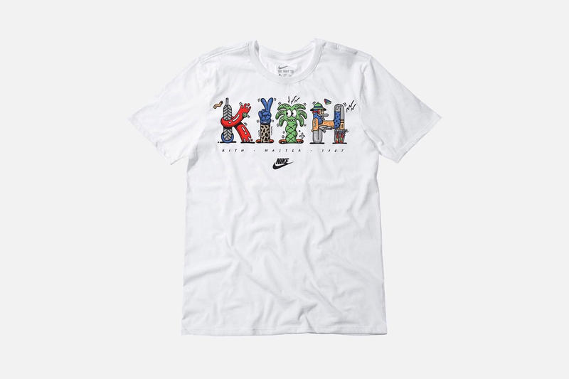Steve harrington kith nike t shirt