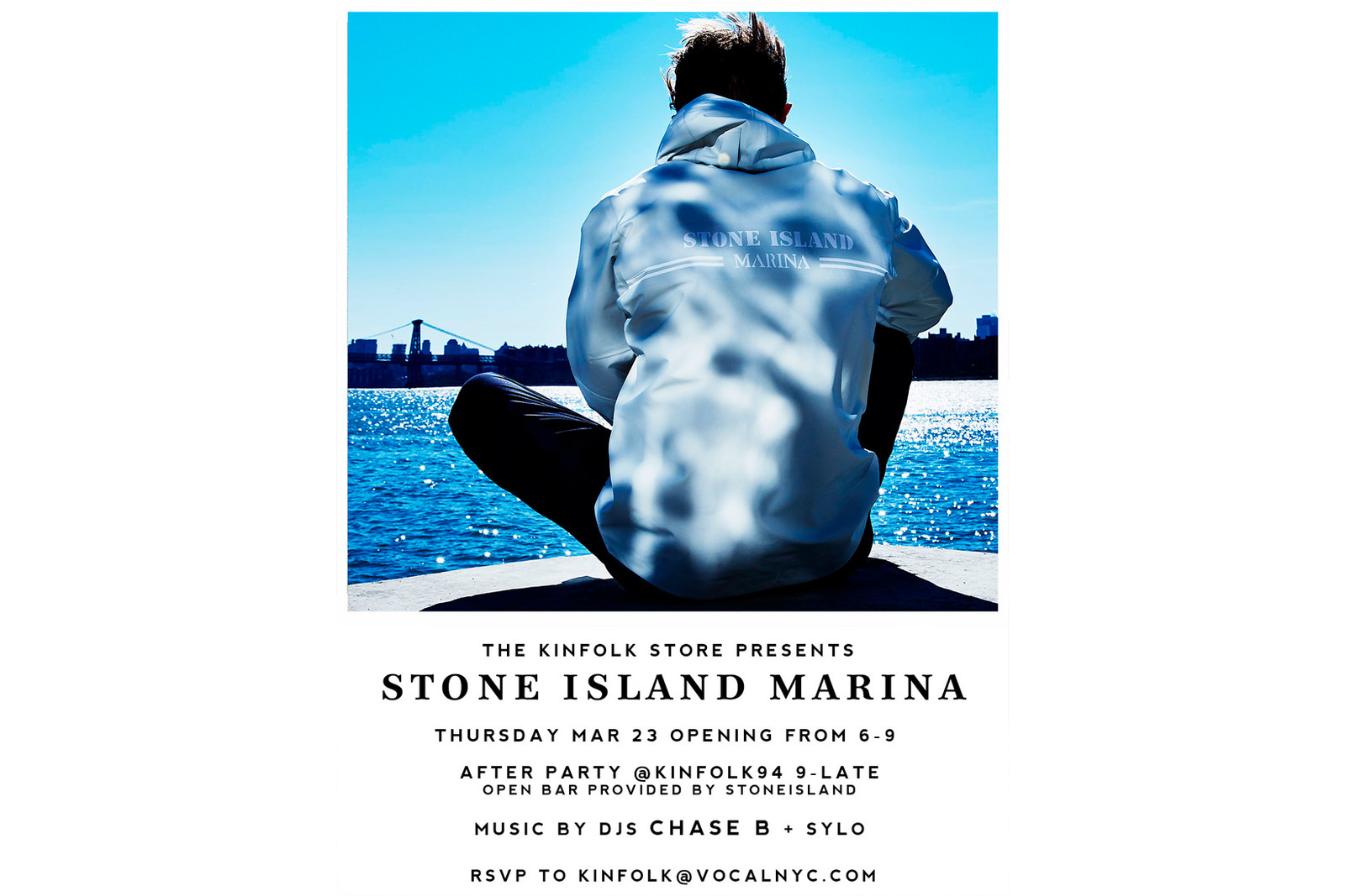 Stone Island Marina Kinfolk Pop Up New York City