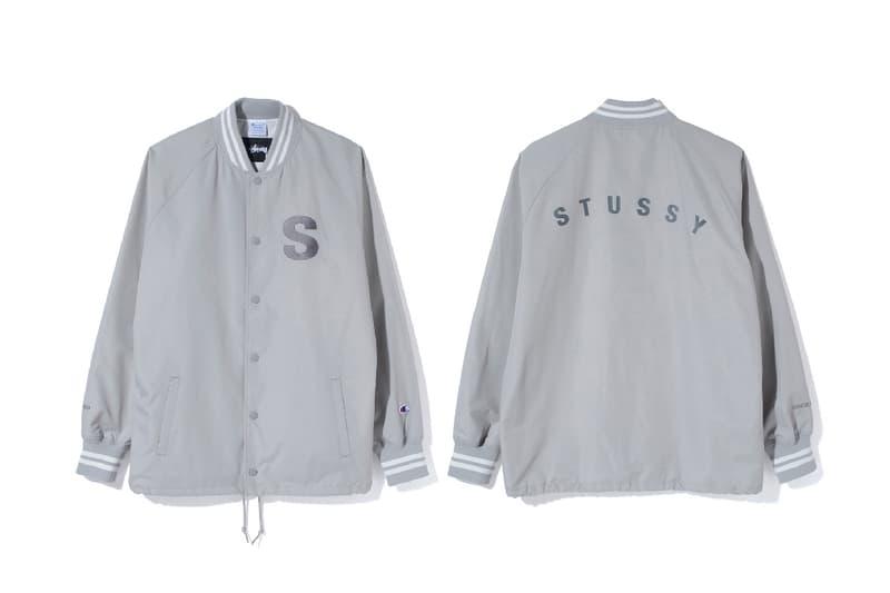 Stussy Champion 2017 Spring Summer Coach Jacket Raglan T Shirt