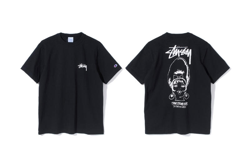 Stussy Champion T Shirts 2017 Spring Summer