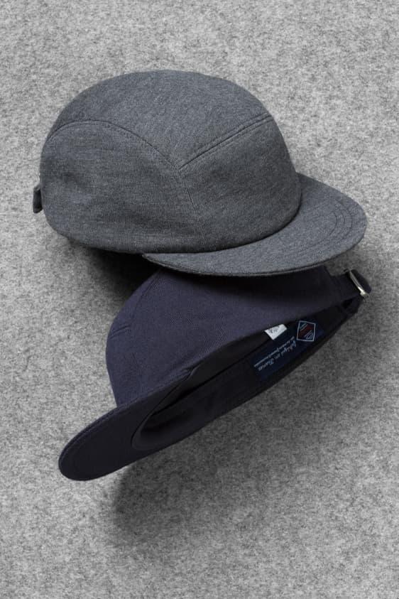 Sunspel Larose Vintage Wool 5 Panel Hat