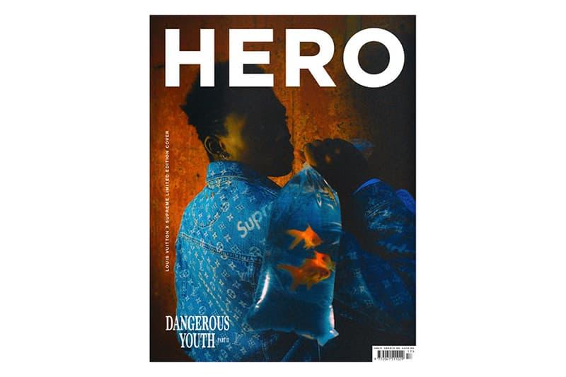 Supreme Louis Vuitton HERO Magazine