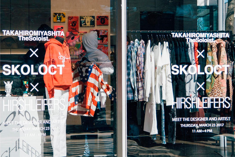 TAKAHIROMIYASHITA the SoloIst SKOLOCT Hirshleifers Pop Up Look Inside