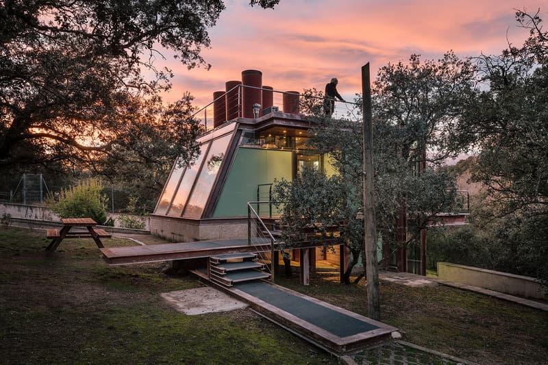 The Hidden Pavilion Glass House Madrid Penelas Architect Studios