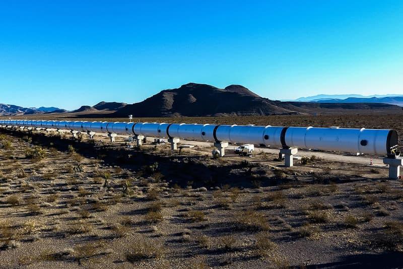 Hyperloop One Test Track Nears Completion Elon Musk Nevada