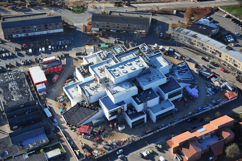 LEGO Experience Center Construction Denmark