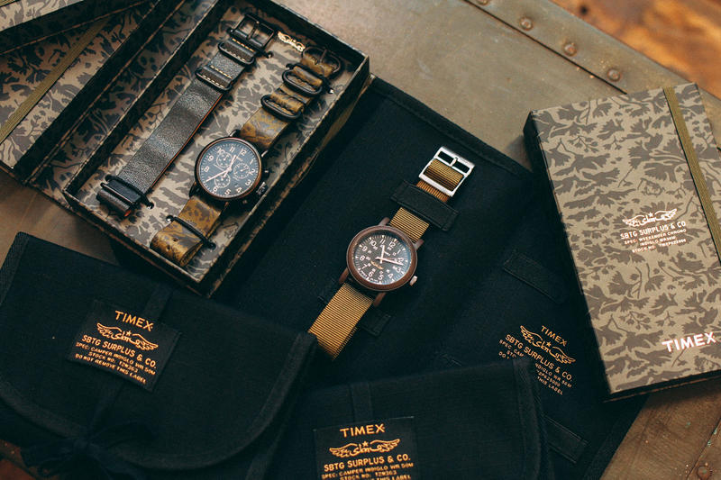 Timex SBTG Surplus Military Watch Collaboration