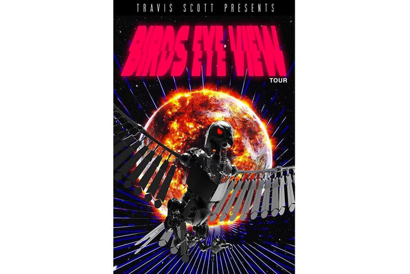 Travis Scott Birds Eye View Tour Dates and Cities Announced