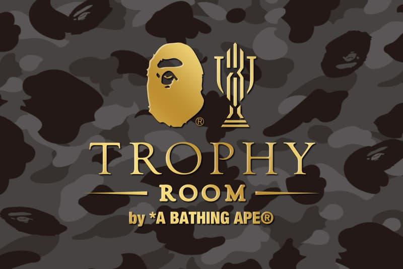 Trophy Room BAPE Collaboration Marcus Jordan Ape Heads Camo