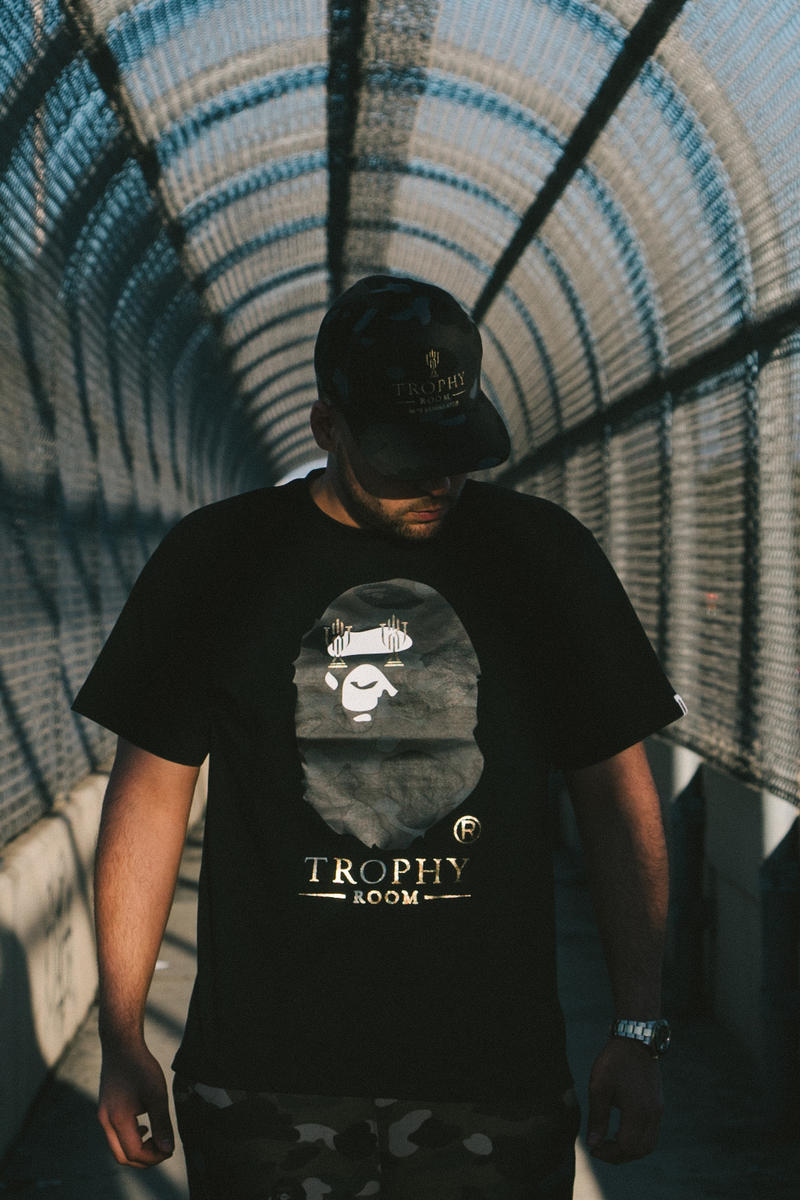 Trophy Room x BAPE Lookbook and Release Information
