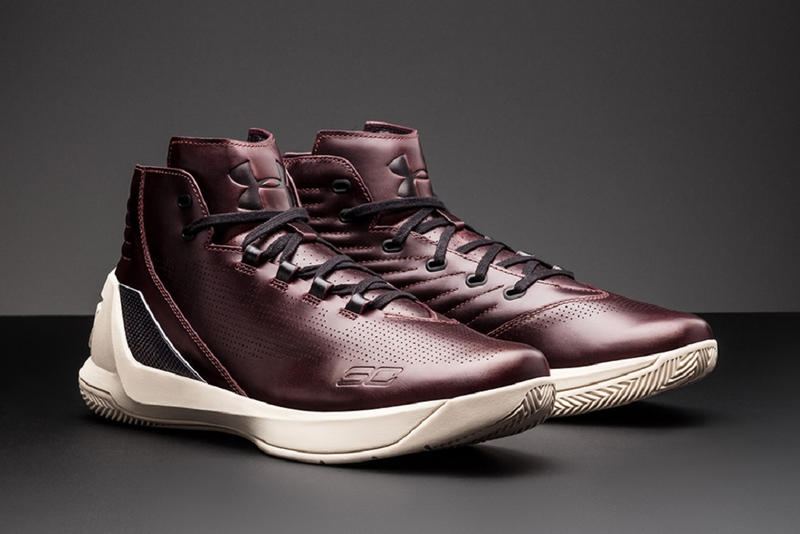 Under Armour UA South Carolina Curry 3 Lux Oxblood