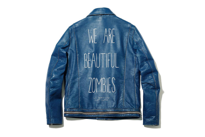 UNDERCOVER Dover Street Market Ginza 5th Anniversary We Are Beautiful Zombies Jacket Back