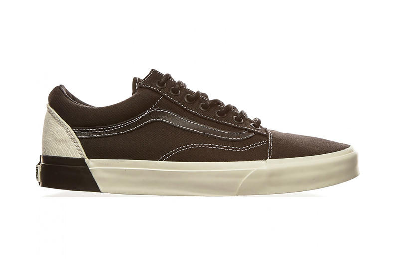 5862dd50a2 Vans Old Skool Color Block Brown And White