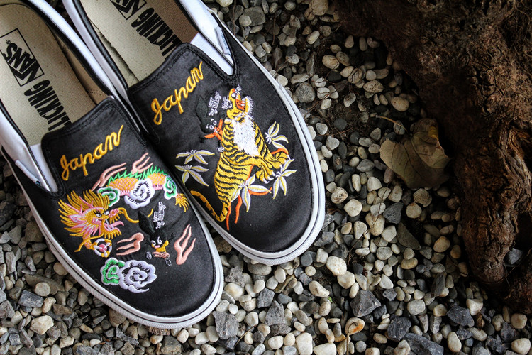 0e88457b99 The ROLLICKING x Vans Japan Slip-On Makes Its Way to Taiwan