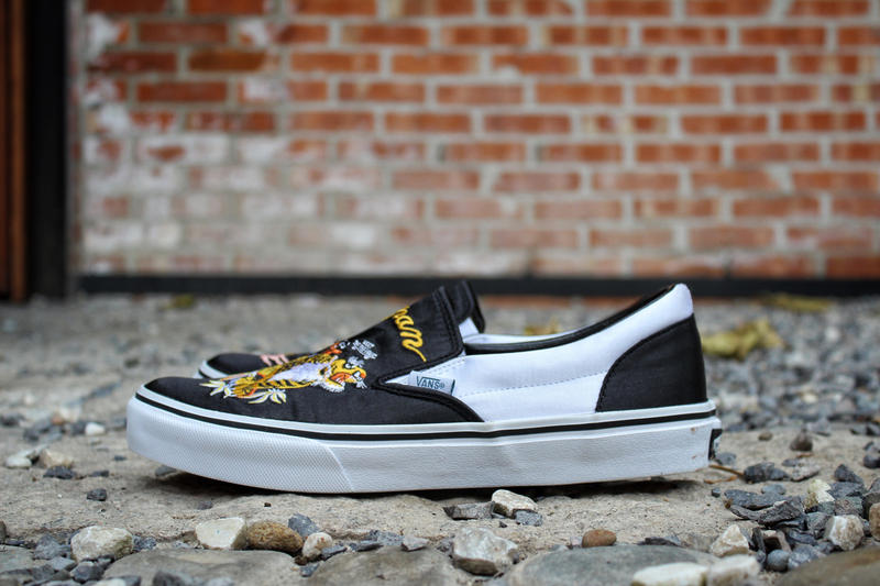 Rollicking Vans Japan Slip-On Yokosuka Satin Collaboration