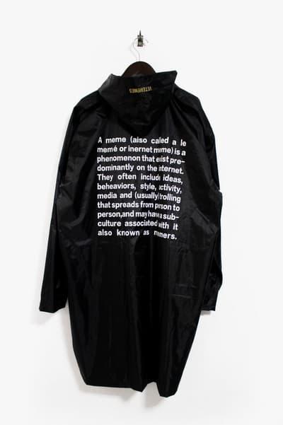 Vetememes Definition-Print Raincoat