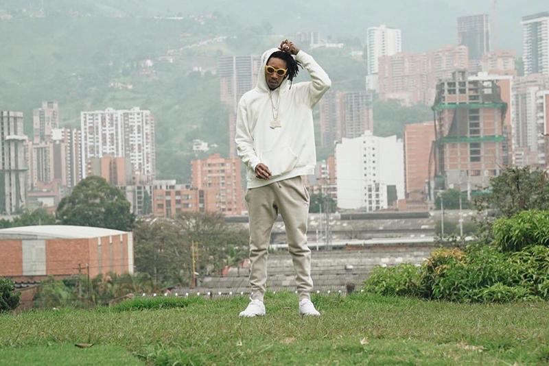 Wiz Khalifa Pablo Escobar Tomb Colombia Medillin Mayor