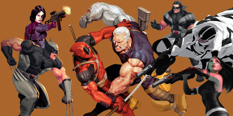 Explanation of X-Force Characters X-Men and Marvel Comics
