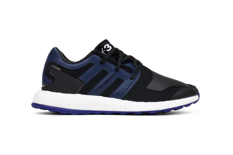 Y3 Pure BOOST Black Blue