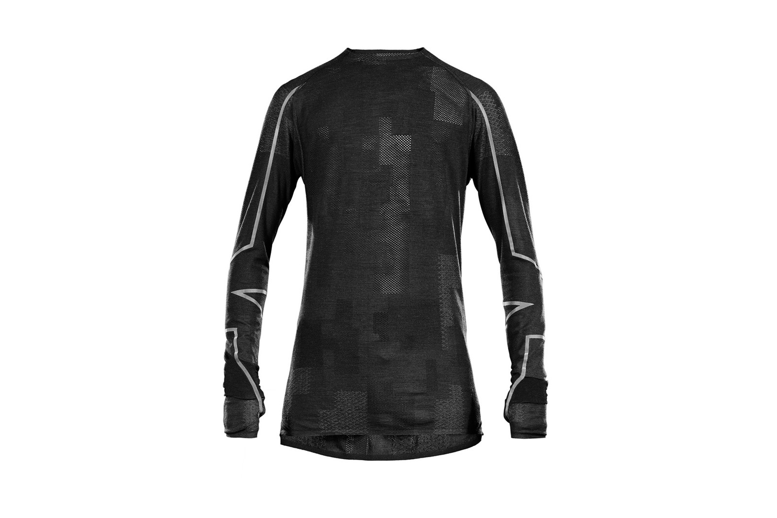 Y-3 SPORT 2017 Spring Summer Collection Approach Merino Rain Zip Jacket Tee Black 3M