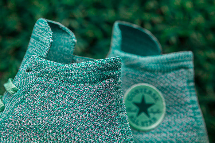 Converse Chuck Taylor All-Star x Nike Flyknit Teal Colorway Back