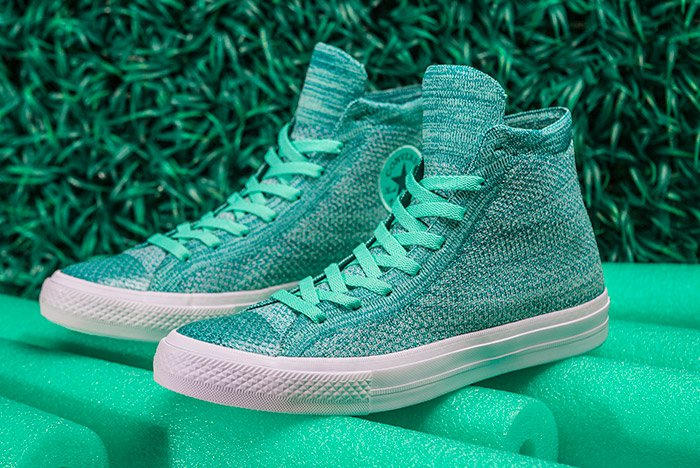 Converse Chuck Taylor All-Star x Nike Flyknit Teal Colorway