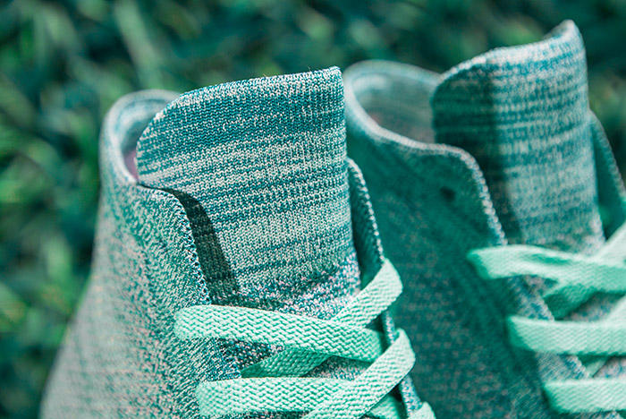 Converse Chuck Taylor All-Star x Nike Flyknit Teal Colorway Laces