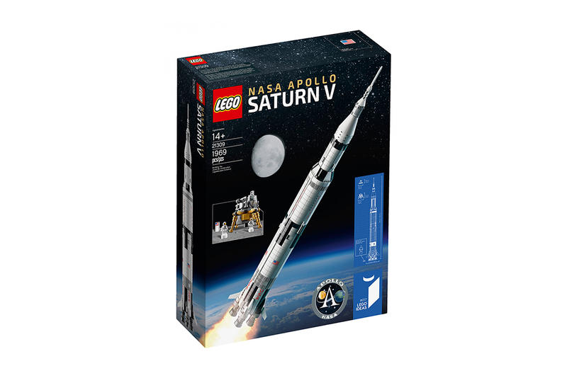LEGO and NASA Create Apollo Saturn V Set Collection Spaceship Rocketship