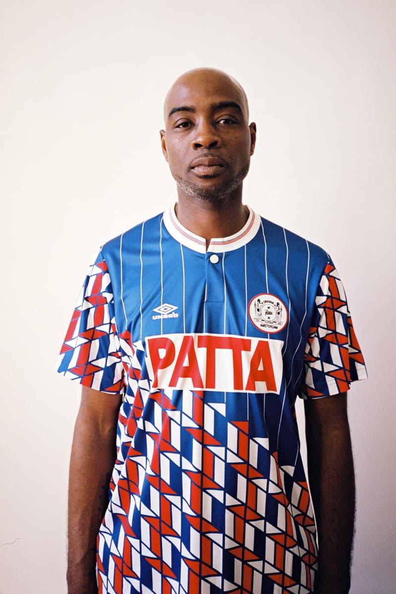 Patta Umbro Football Jersey Soccer Sportswear Clothing