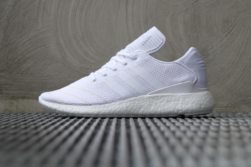factory price 71fa6 aaae5 adidas Busenitz Pure BOOST Primeknit Triple White