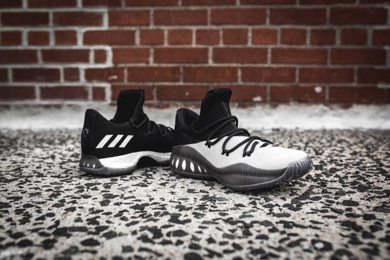 d561c61b9ff adidas Consortium Crazy Explosive Low Black White