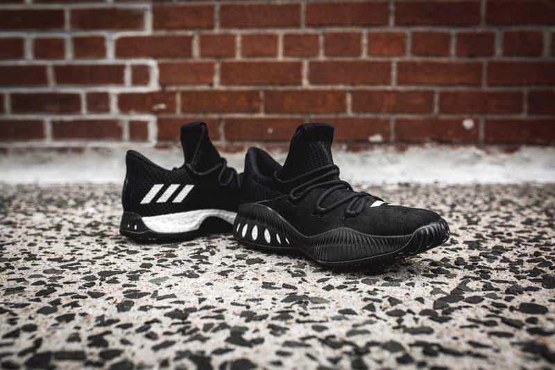adidas Consortium Crazy Explosive Low Black White