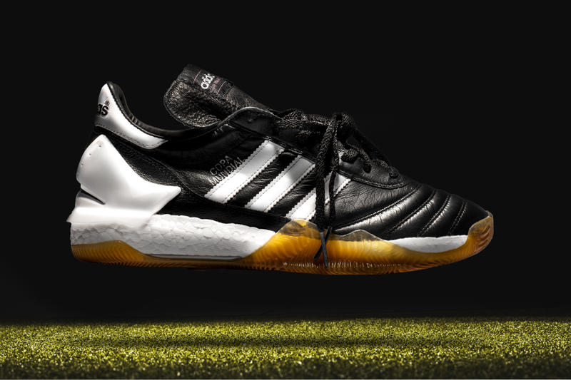 Shoe Surgeon adidas Copa Mundial Custom Cleat Football Soccer Basketball Three Stripes Leather BOOST sole