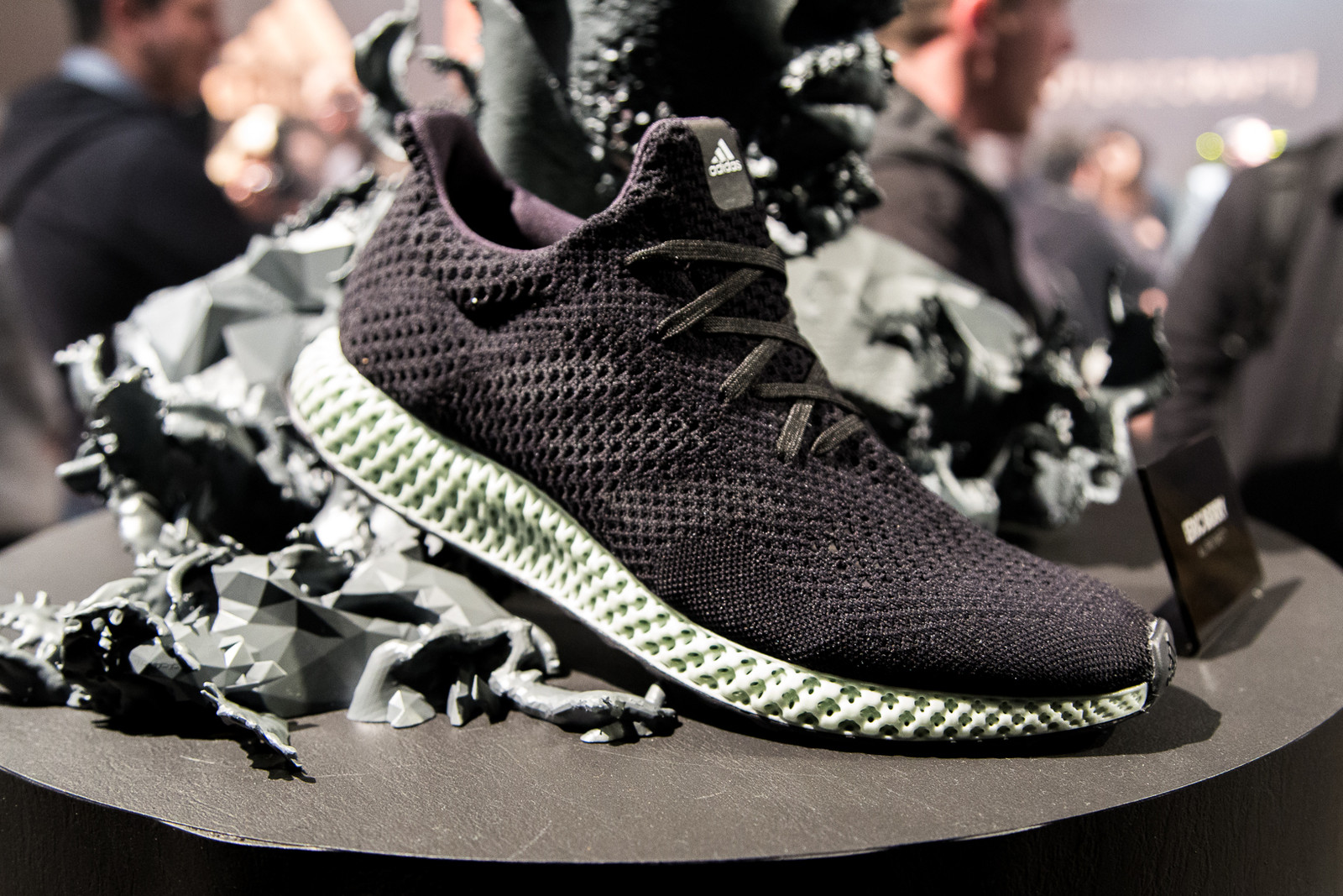 adidas Futurecraft 4D UltraBOOST Black Green Jeff Staple