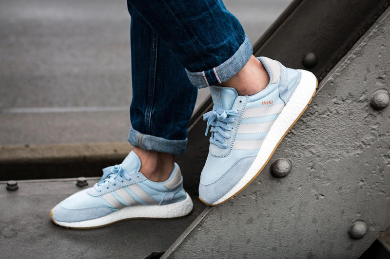 adidas Iniki Runner BOOST Easy Blue Pearl Grey