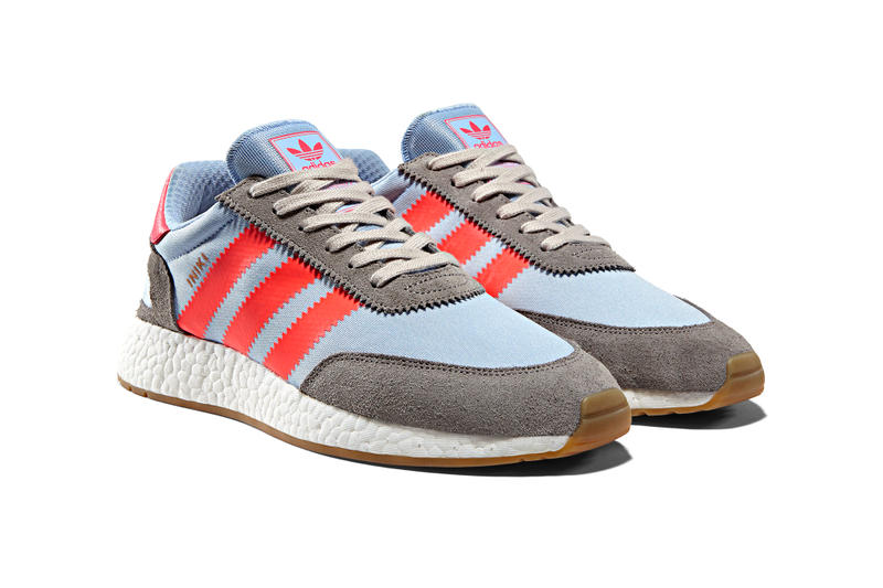 30d4f70f14f adidas Release Iniki Runner Grey Red Colorway