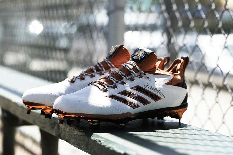 5e2e7f9bd5d adidas Celebrates Jackie Robinson Day With Special Edition Cleats and  Trainers