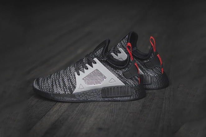7f373d8cd2fb7 adidas NMD XR1 Finish Line Exclusive Release Date BOOST Sole Three Stripes